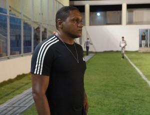 Zenóbio Damázio, técnico do Flamengo-PB (Foto: Larissa Keren)