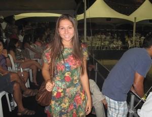 Carolina Portaluppi, filha de Renato Gaúcho. (Foto: Flávio Dilascio / SporTV.com)