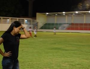 Gleide Costa, treinadora do Botafogo-PB feminino (Foto: Rammom Monte)