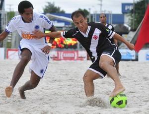 Vasco x Cruzeiro Copa Brasil de futebol de areia (Foto: Antonio Lima)
