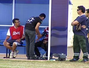técnico Marcos Ferrari MS Saad (Foto: Reprodução TV Morena)