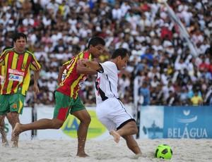 Vasco da Gama e Sampaio Correa do Maranhão na Copa Brasil de futebol de areia rafinha (Foto: Antônio Lima/Divulgação)