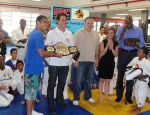 UFC José Aldo, Toquinho, Barão e Flávio Canto (Foto: Ivan Raupp / Globoesporte.com)