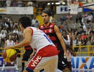 Franca vence Flamengo no NBB (Foto: Newton Nogueira / NBB)