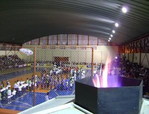Copa TV TEM Bauru - cerimônia de abertura em Barra Bonita (Foto: Alan Schneider/GLOBOESPORTE.COM)