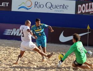 André Copa América de futebol de areia em Rio Quente Goiás  (Foto: Divulgação/CBBS)