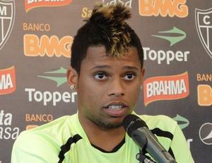 André, atacante do Atlético-MG (Foto: Fernando Martins / Globoesporte.com)