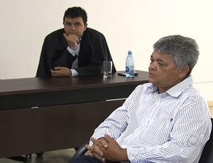 Carmo Cirino, presidente do Goianésia (Foto: Reprodução/TV Anhanguera)