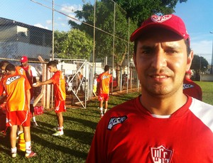 Nrei C aldeira, preparador físico do Uberaba Sport (Foto: Luiz Vieira/GLOBOESPORTE.COM)