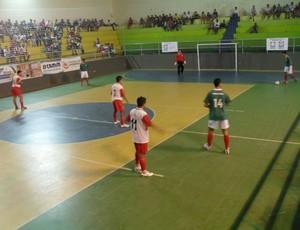 Santo Antônio do Monte x Bom Despacho pela segunda rodada da Copa Integração de Futsal, região Divinópolis/Araxá (Foto: Cleber Corrêa)
