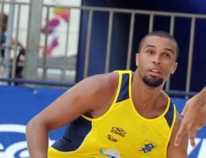 Ícaro, jogador de vôlei de praia (Foto: Divulgação)