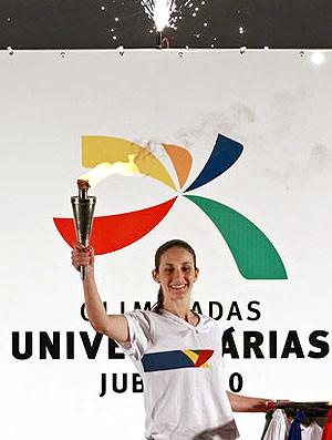cerimônia Olimpiadas Universitárias (Foto: Divulgação)
