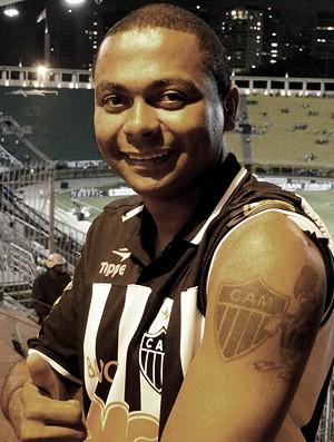 torcedor do Atlético-MG no Pacaembu