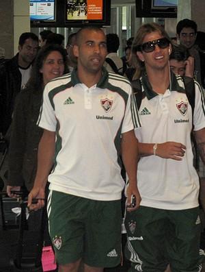 Emerson Diguinho Fluminense (Foto: Cahê Mota / Globoesporte.com)