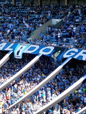 torcida grêmio estádio olímpico (Foto: Eduardo Cecconi / Globoesporte.com)