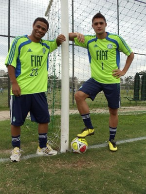Diego Souza e Miguel base do Palmeiras