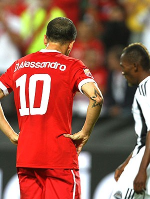D´Alessandro na derrota do Internacional para o Mazembe (Foto: Jefferson Bernardes / VIPCOMM)