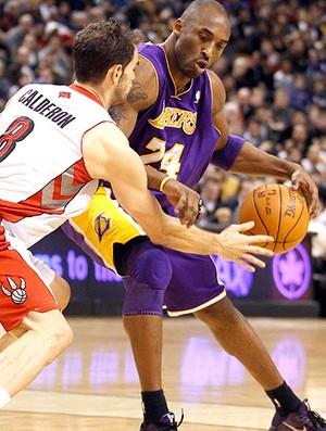 NBA Kobe Bryant Jose Calderon Lakers x Raptors