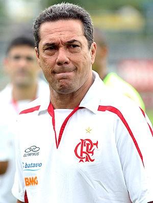 Vanderlei Luxemburgo no treino do Flamengo na Gávea (Foto: Maurício Val / VIPCOMM)