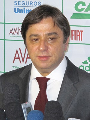 Arnaldo Tirone presidente Palmeiras (Foto: Carlos Augusto Ferrari / Globoesporte)