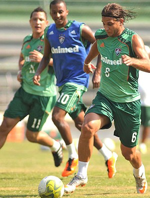 Rafael Moura treino Fluminense