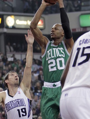 Ray Allen, do Boston Celtics