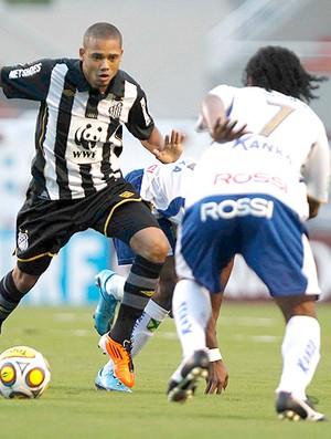 Adriano Rodrigo Possebon Santos x Santo André (Foto: Ag. Estado)