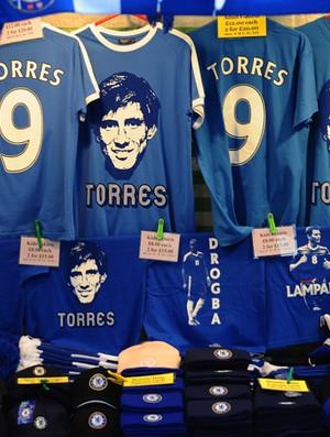 fernando torres camisa  chelsea x liverpool (Foto: Getty Images)