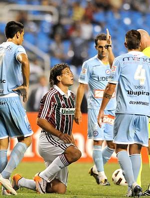 Rafael Moura Fluminense x Argentinos Juniors (Foto: André Durão / Globoesporte.com)