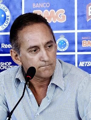 Dimas Fonseca, diretor de futebol do Cruzeiro (Foto: Lucas Catta Prêta / GLOBOESPORTE.COM)
