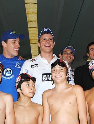 Cesar Cielo natação projeto Pro 16 (Foto: João Gabriel / Globoesporte.com)