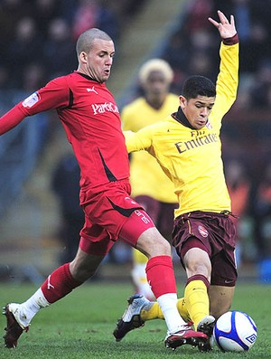 Leyton Orient x arsenal denilson (Foto: Getty Images)