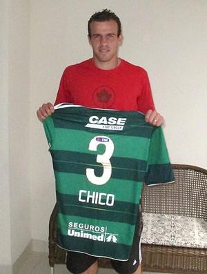 Chico, Palmeiras  (Foto: Diego Ribeiro/Globoesporte.com)