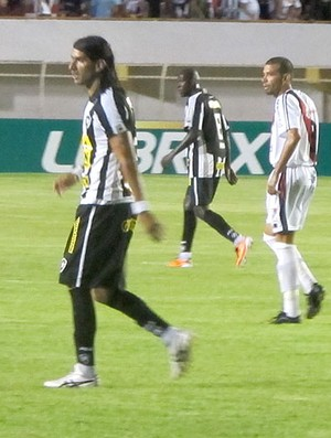 Loco Abreu Botafogo x River Plate-SE (Foto: Gustavo Rotstein / Globoesporte.com)