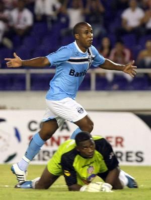 Borges gol Grêmio (Foto: EFE)