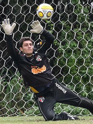 Denis goleiro São Paulo (Foto: Agência Estado)
