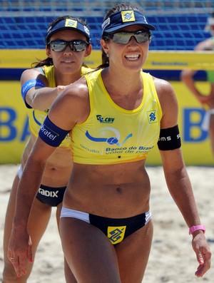 talita e maria elisa volei de praia (Foto: CBV-Divulgação)