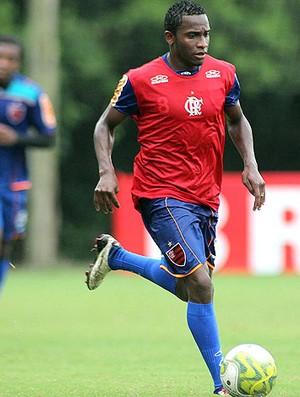 Willians treino Flamengo (Foto: Maurício Val / VIPCOMM)