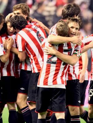 comemoração Athletic Bilbao (Foto: EFE)