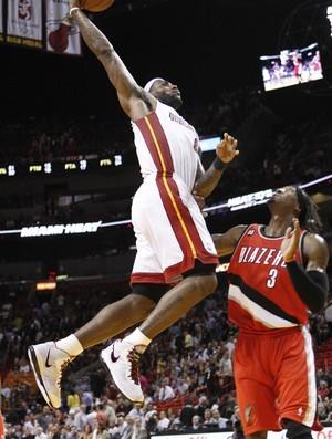 LeBron James, astro do Miami Heat (Foto: basquete; nba; miami; lebron)