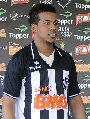 Guilherme, lateral do Atlético-MG (Foto: Marco Antônio Astoni/Globoesporte.com)