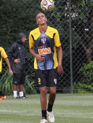 Alex Silva, zagueiro do São Paulo (Foto: Luiz Pires / VIPCOMM)