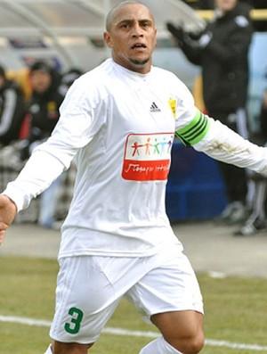 roberto carlos Anzhi Makhachkala (Foto: Divulgação / Site oficial do Anzhi)