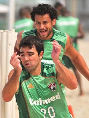 Deco e Fred Fluminense (Foto: Photo Camera)