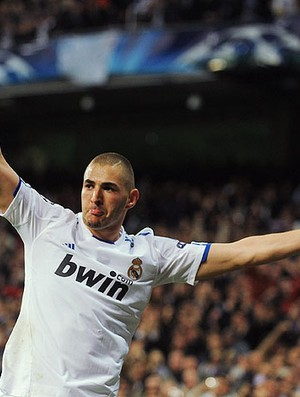benzema real madrid x lyon (Foto: Getty Images)