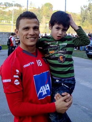 Lima, jogador brasileiro do Braga (Foto: Rafael Maranhão / GLOBOESPORTE.COM)