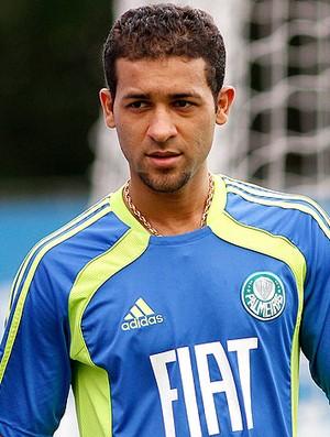 Pierre no treino do Palmeiras (Foto: Piervi Fonseca / Ag. Estado)