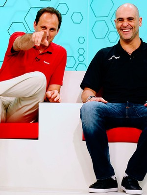Rogério Ceni Marcos Bem Amigos (Foto: Marcos Ribolli / Globoesporte.com)