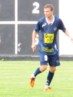 marcelo mattos treino botafogo (Foto: Gustavo Rotstein/Globoesporte.com)