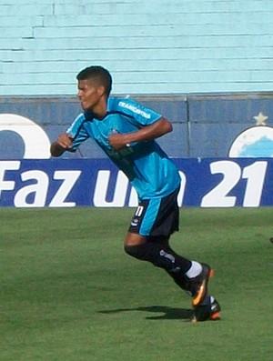 Leandro  Grêmio (Foto: Eduardo Cecconi/Globoesporte.com)